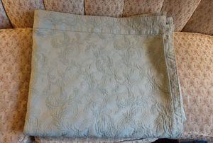 Anichini Italian 100% Cotton Green Throw Blanket!! King Size!! for Sale in Colorado Springs, CO