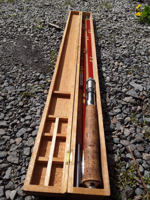 Kiraku 5 in 1 Fishing Rod for Sale in Puyallup, WA