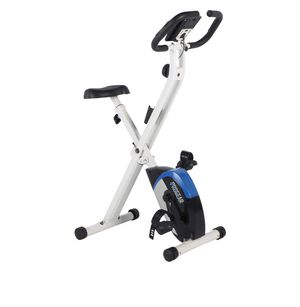 progear 225 folding magnetic upright exercise bike with heart pulse for Sale in Austin, TX