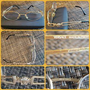 Vintage Versace Medusa glasses Frame for Sale in Tacoma, WA