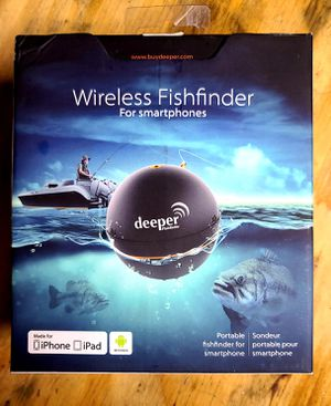 """""""Deeper"""" Portable, Castable Fishfinder for Sale in Long Beach, CA"""