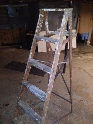 Vintage wooden ladder for Sale in Wyandotte, MI