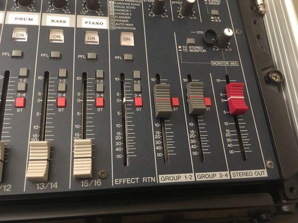 Yamaha MG166cx mixer