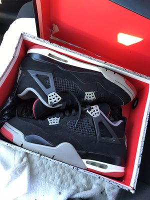 "Jordan ""OG BRED"" 4s for Sale in Belleville, MI"