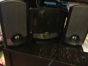 CD Player/Radio w two speakers $15 for Sale in Washington, DC