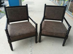 Ashley Furniture Milari script accent chairs 😲credit cards accepted! Must see! Retails for $375 each.. Will separate $100 each !😲 for Sale in Joliet, IL