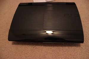 Super slim ps3 (disk tray does not work) system works still for Sale in Worcester, MA