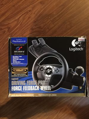 Ps2 driving force pro for Sale in San Diego, CA