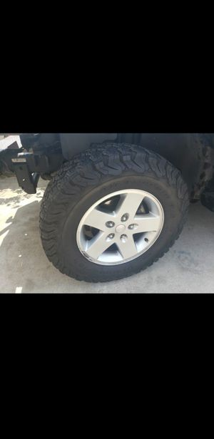 Jeep Jk Tires and Rims for Sale in Salinas, CA