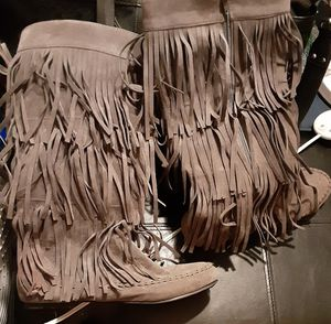 Fringe boots for Sale in Tampa, FL