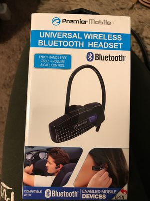 Wireless Bluetooth Headset for Sale in Upland, CA