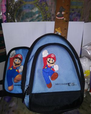 NINTENDO DS MARIO GAME ACCESSORY BAG for Sale in New Ringgold, PA