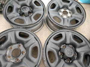 15 inch matte black Toyota Tacoma 15 inch rims for Sale in Los Angeles, CA