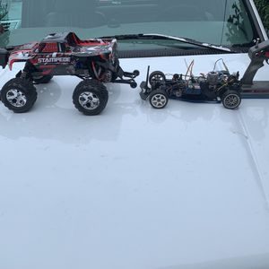 Traxxas Stampede And 4 Nitro Tec for Sale in Bellevue, WA