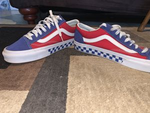 Checkerboard vans sz11.5 great condition for Sale in Warr Acres, OK