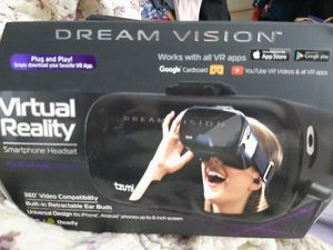 Virtual reality smartphone headset. New. In box. for Sale in Midland, TX