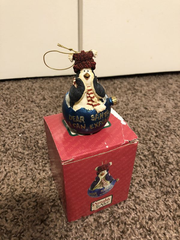 The Boyds Collection Penguin/Snowman Ornaments