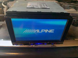110$ Stereo Alpine. Dvd . Aux . FM/AM for Sale in Phoenix, AZ