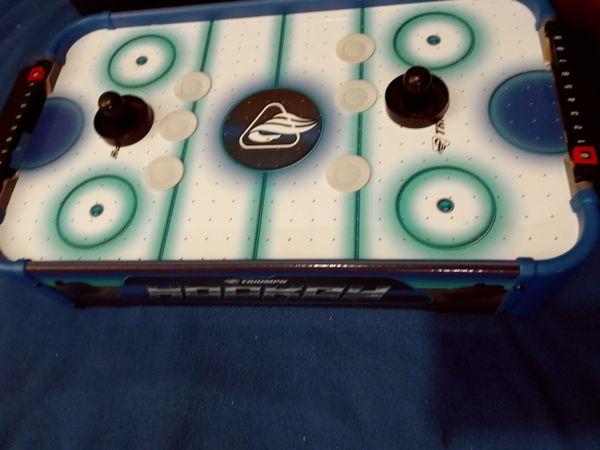 Triumph Air hockey table top size