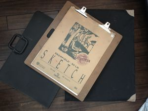 Art / photography Portfolio, carrying case and sketch board for Sale in Tampa, FL
