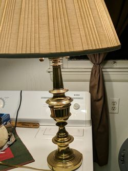 Solid Brass Antique Lamp. Words Great! for Sale in Mount Clare,  WV