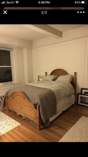 Bed frame & box spring for Sale in Philadelphia, PA