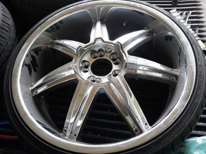 20 inch rims bolt pattern(5x112) FIRST COME BASED (FIRM ON PRICE) for Sale in Tampa, FL