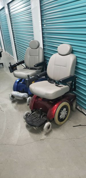 Electric chairs The blue works perfectly. the red one needs a new battery, both come with a manual take both for $600 for Sale in Chino, CA
