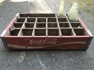 Antique coke containers for Sale in Suffern, NY