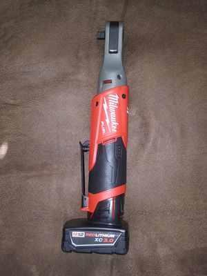 """Milwaukee m12 fuel 3/8"""" ratchet and one 3.0 battery no charger for Sale in Garner, NC"""