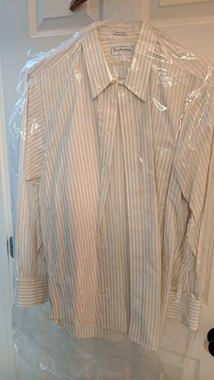 Burberry dress shirt 16-34, 100% cotton for Sale in Placentia, CA