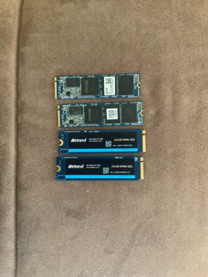 256 GB NVME PCIE SSD DRIVES (read details) for Sale in Chicago, IL