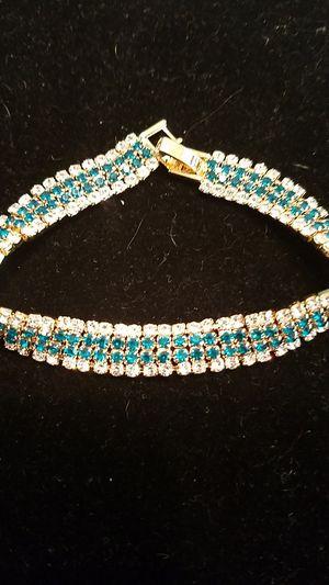 Luxury 12 carats total diamonique bracelet. for Sale in Denver, CO