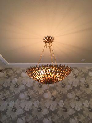 Golden Ceiling Chandelier for Sale in Miami, FL