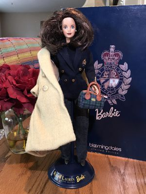 Beautiful! Limited edition Ralph Lauren Collectors Barbie for Sale in Gainesville, VA