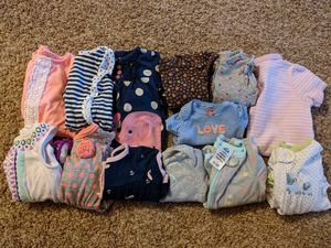Nb-3 month girl clothing-- 30 items for Sale in Medina, OH