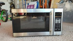 Black and decker microwave for Sale in GRANT VLKRIA, FL