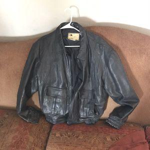 Leathermen vintage motorcycle jacket large for Sale in Phoenix, AZ