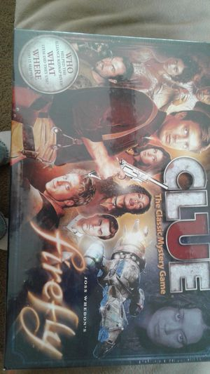 Firefly Edition Clue Board Game NEW for Sale in Lancaster, CA