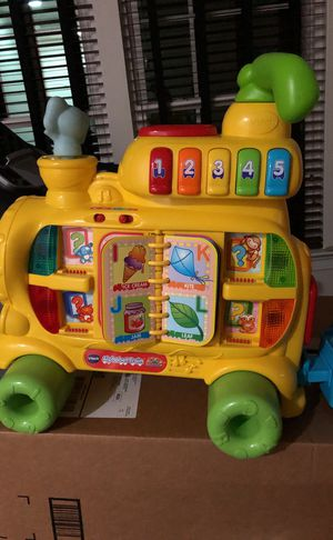 Kid learning toy train for Sale in Gainesville, VA