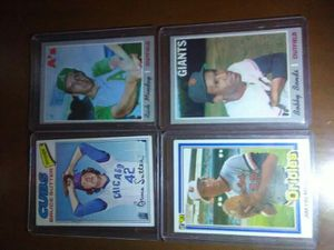 Baseball cards 1970-80's topps for Sale in Lynnwood, WA