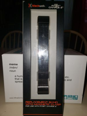 Black web fitbit charge 2 band for Sale in North Charleston, SC