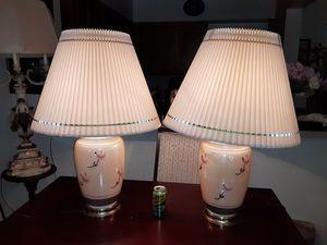 Pair Large Vintage Ginger Jar Lamps for Sale in Mount Rainier, MD