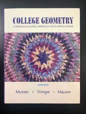 College Geometry (textbook) for Sale in San Francisco, CA
