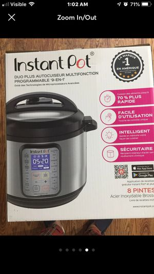 Instant pot 8qts for Sale in Chicago, IL