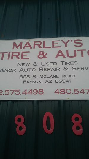 Mobile tire marleys tire for Sale in Payson, AZ