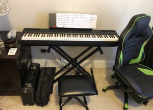 Yamaha p115 fully weighted 88 key piano for Sale in Cary, NC