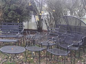 Metal outdoor patio furniture for Sale in Seattle, WA