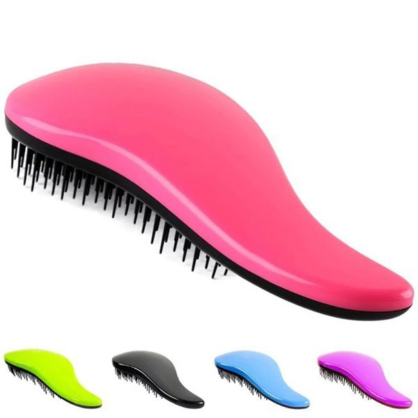 2019 2017 Magic Handle Tangle Detangling Comb Shower Hair Brush detangler Salon Styling Tamer exquite cute useful Tool