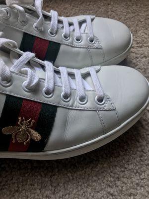 Gucci leather sneakers sz 36 for Sale in Atlanta, GA